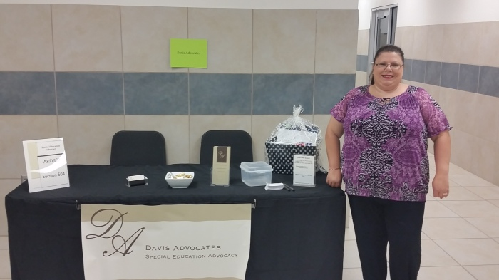 Dickinson ISD Abilities Conference Exhibitor Table 2015